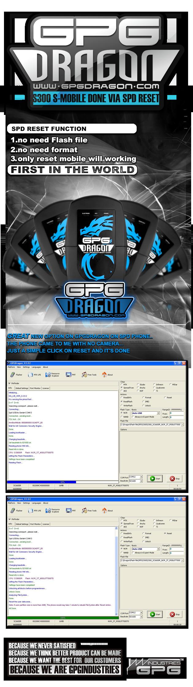 2011 03 02 GPGDRAGON S300 S Mobile DONE via SPD RESET 630