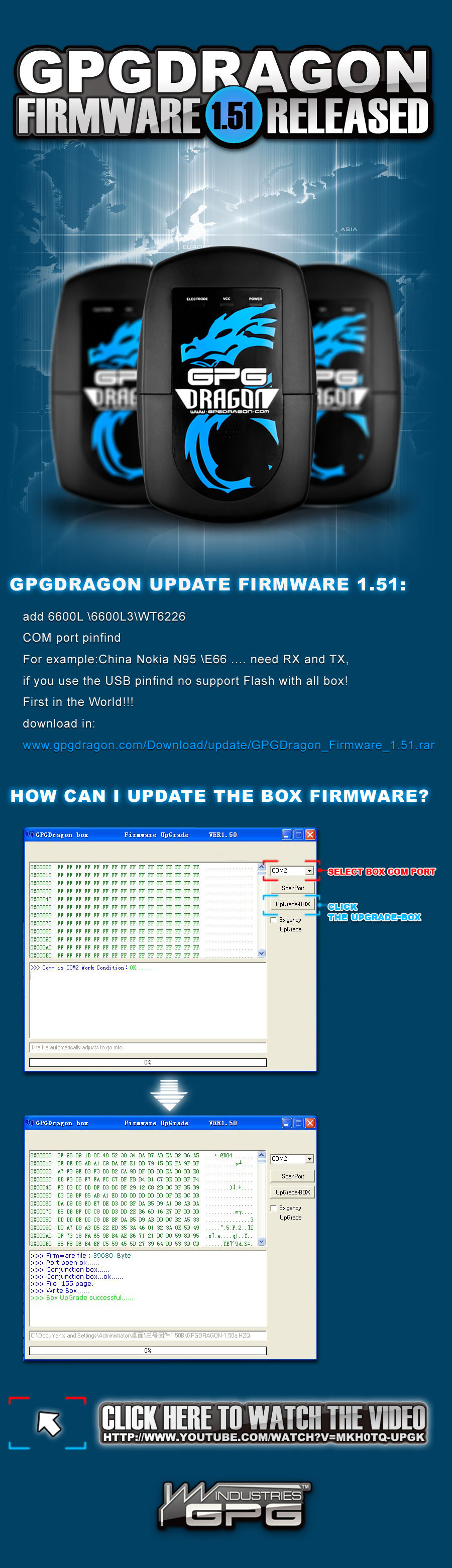 GPGDragon Firmware 151 Released