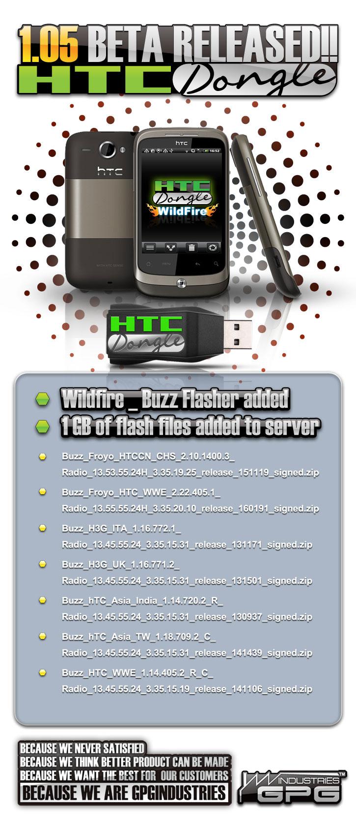 HTCDongle V105 Beta Released 21 725