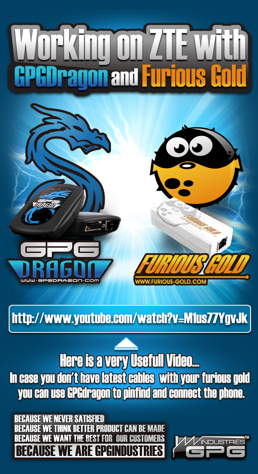 Working on ZTE with GPGDragon and Furious Gold