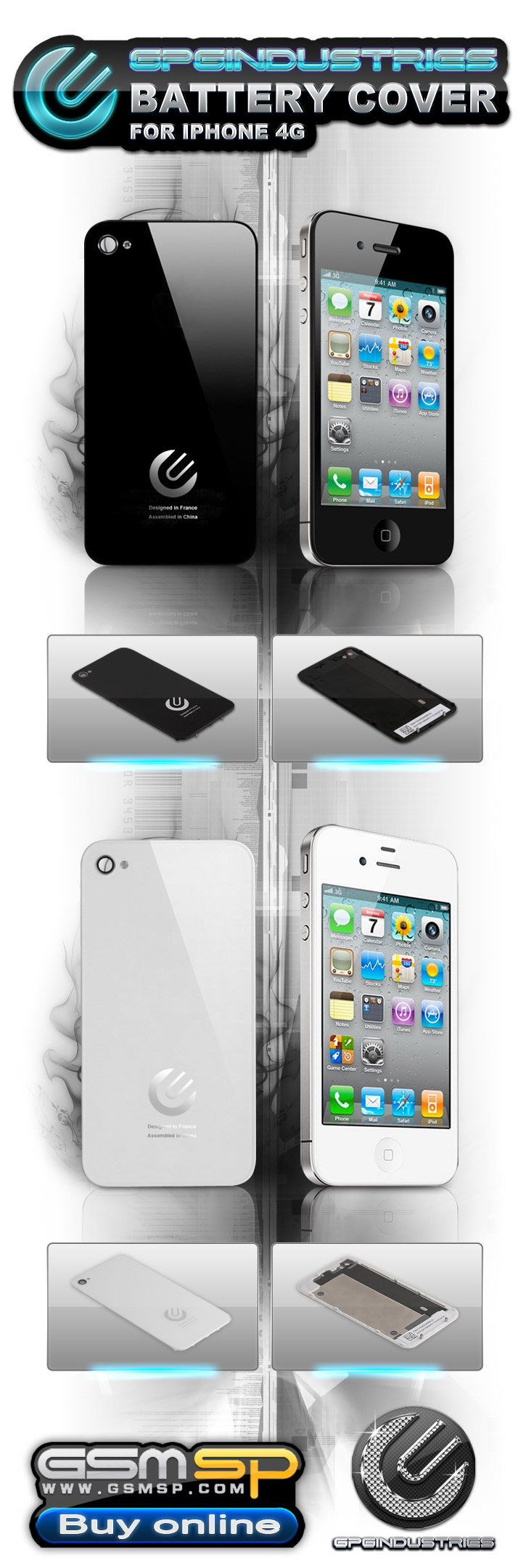2011 07 26 GPG battery cover for Iphone4G 725