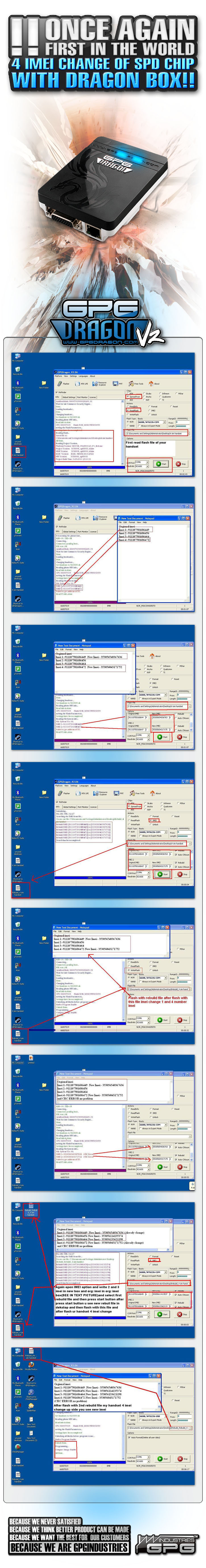 2011 06 08 4 imei change of SPD chip with Dragon Box 725