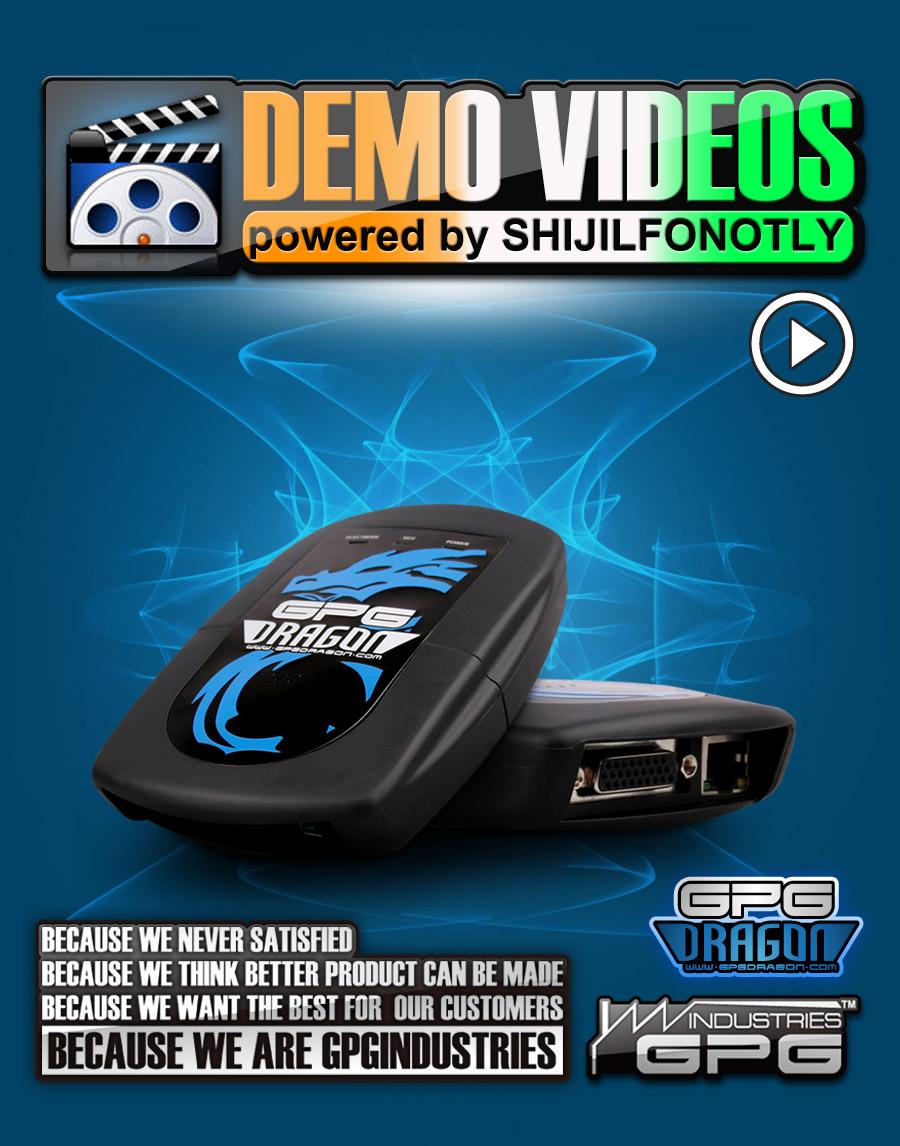 2011 03 02 GPGDRAGON Demo videos powered by SHIJILFONOTLY